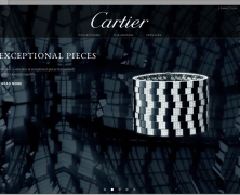 CARTIER new E-Commerce site November 2012 - USA - E-Commerce